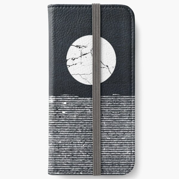 Crack in the Moon iPhone Wallet