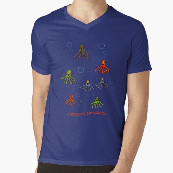 Cycloptic Hectopus Tee-shirt V-Neck T-Shirt