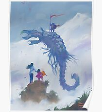 Guerrier Scorpion Poster