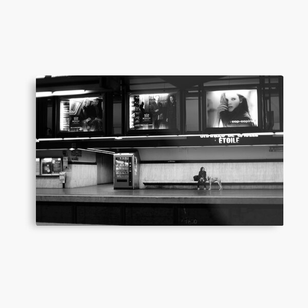 Urban Loneliness Metal Print