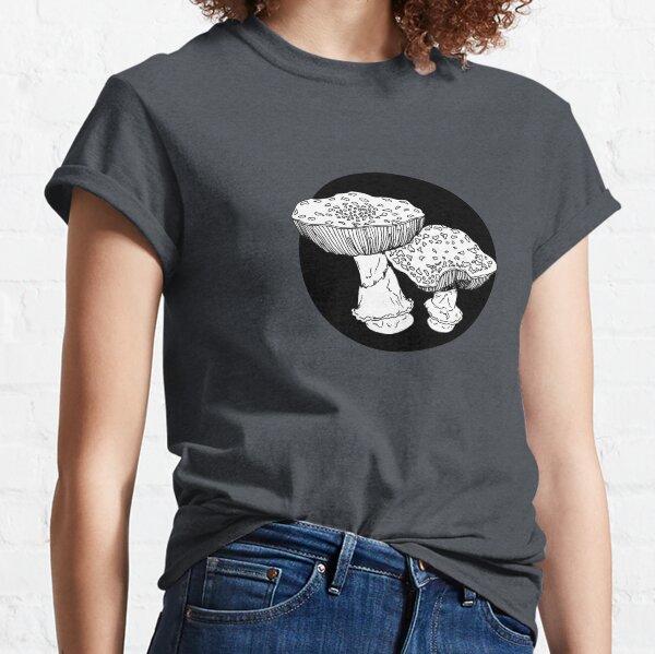 amanita mushrooms illustration Classic T-Shirt