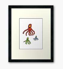 Octopus for kids tee Framed Print