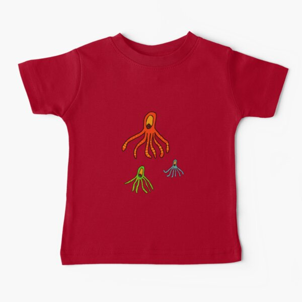Octopus for kids tee Baby T-Shirt