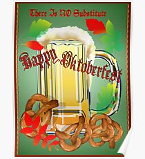 Beer and Pretzels-There is NO substitute. Poster