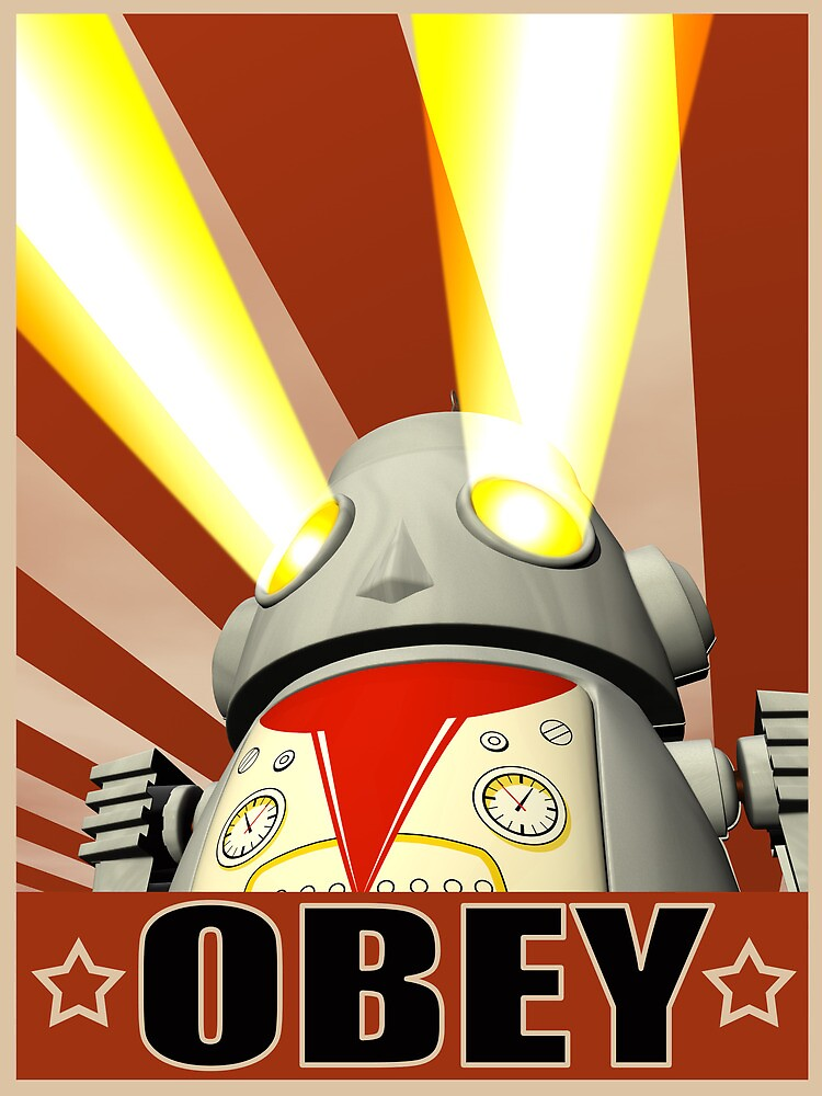 OBEY Version 1 by mdkgraphics