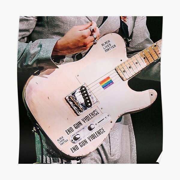 Harry Styles Iconic Guitar Poster