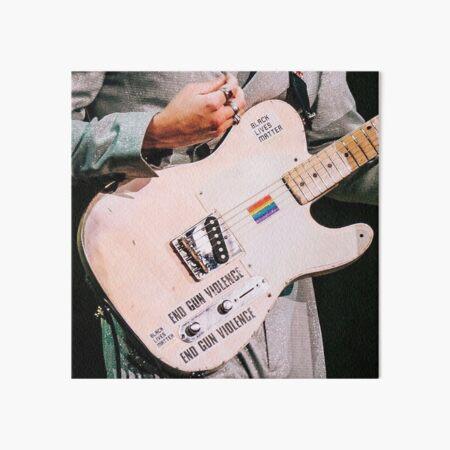 Harry Styles Iconic Guitar Art Board Print