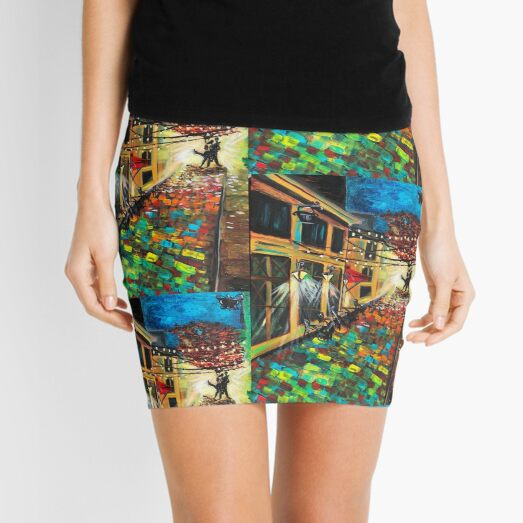 'Street Dancers' Mini Skirt