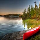 To canoe is to be moved by Elisabeth van Eyken