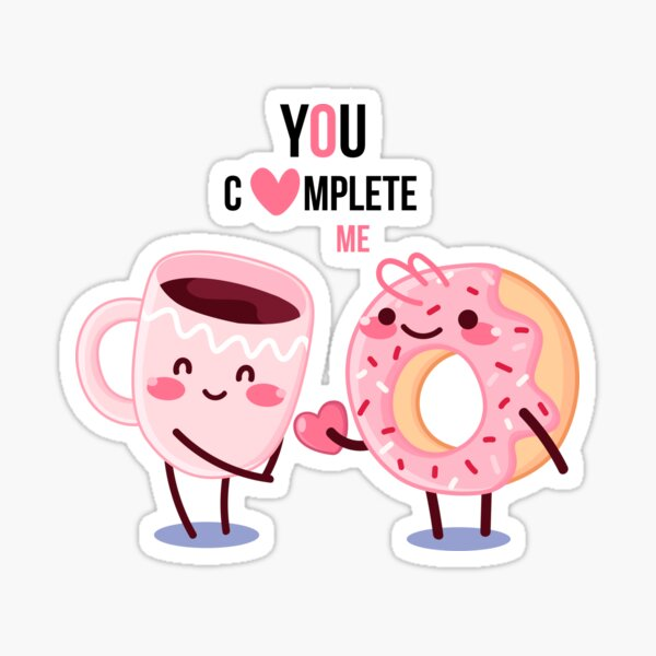 Adopt don't shop #6 - Love - You complete me Sticker