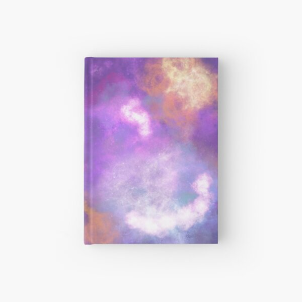 Abstract Nebula  Hardcover Journal