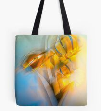 Lamplight : Color Abstract Tote Bag