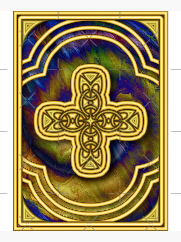 Gold Cross by kerravonsen