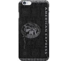 American Express Black iPhone Case/Skin