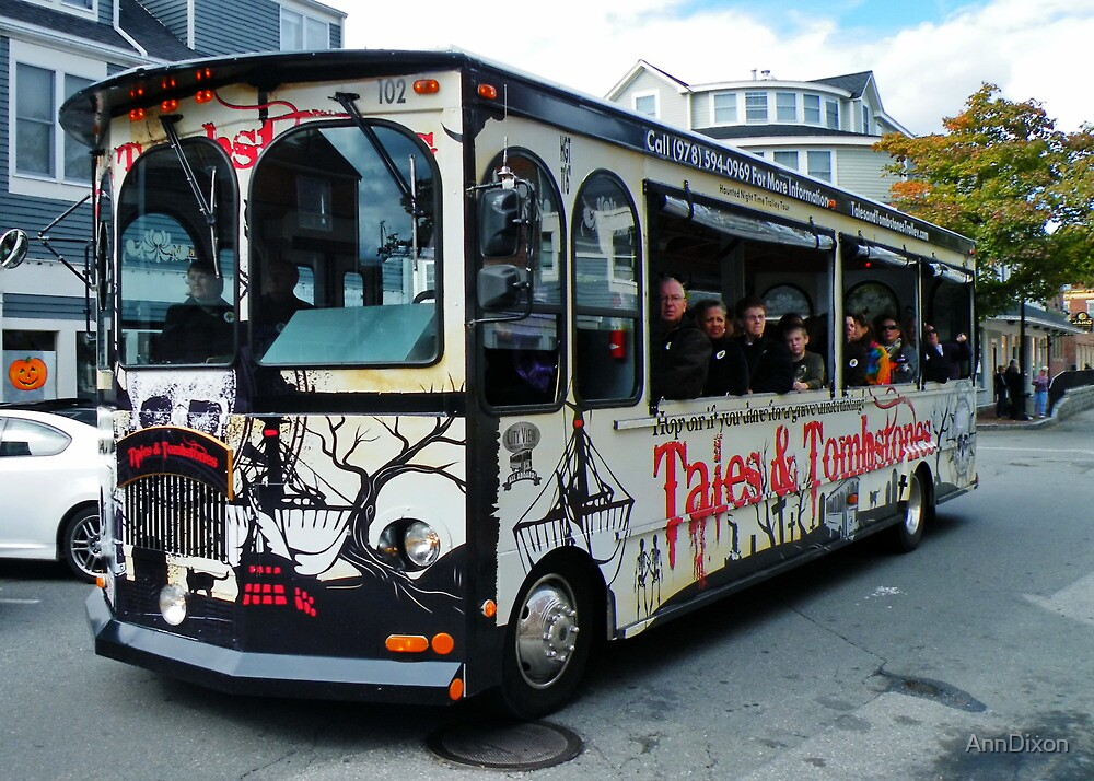 Tales and Tombstone Bus by AnnDixon