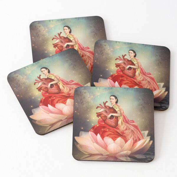 Digital artwork Coasters (Set of 4)