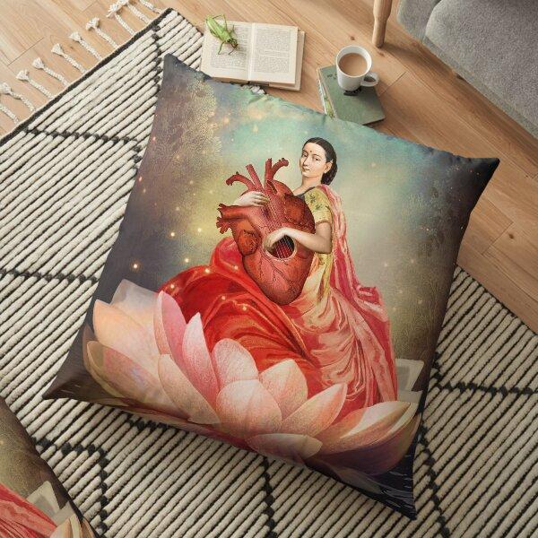 Digital artwork Floor Pillow