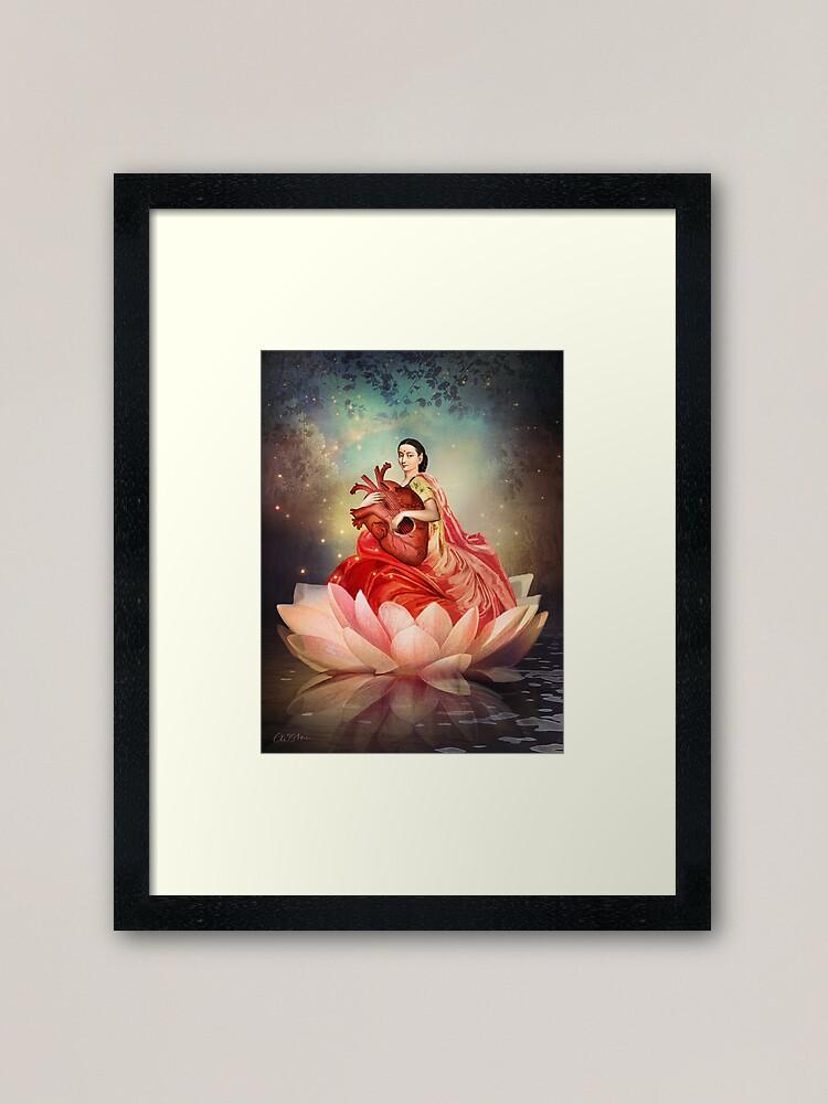 Alternate view of  Digital artwork Framed Art Print