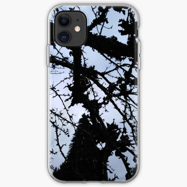 Winters Crab Apple Tree iPhone Soft Case