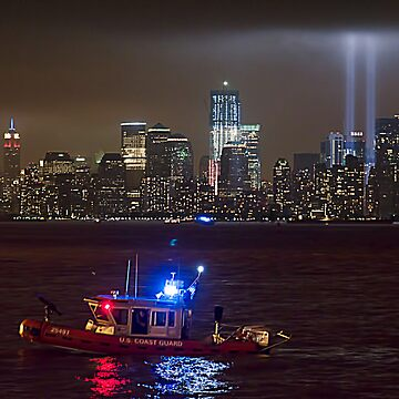 9/11 tribute of lights by emtee656