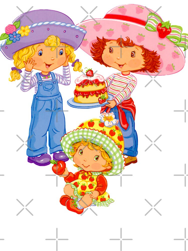 Strawberry Shortcake And Friends Kids T Shirt By Eficamus Redbubble