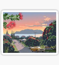 Great Barrier Island - Road to Leigh Sticker