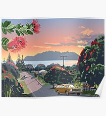 Great Barrier Island - Road to Leigh Poster