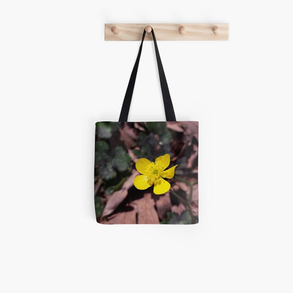 Poyrazlar Yellow Flower Tote Bag