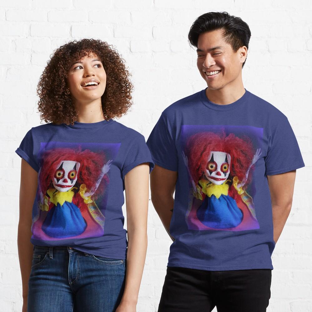 Jack In The Box Clown Horror Doll ~ Lady Scream Classic T-Shirt