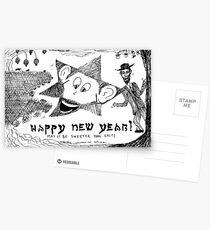 Rosh HaShanah Greetting Postcards