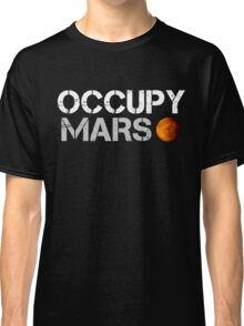 Occupy Mars Black Classic T-Shirt