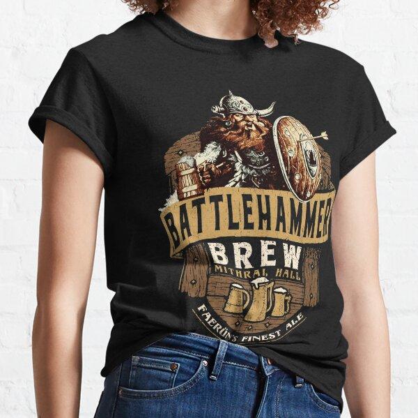 Battlehammer Brew Bruenor Realms Classic T-Shirt