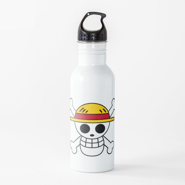 One piece-Straw-hat Logo Water Bottle