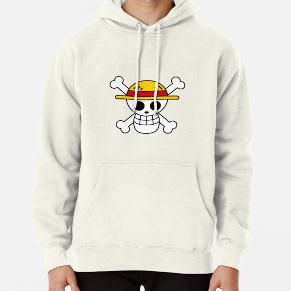 One piece-Straw-hat Logo Sweat à capuche épais