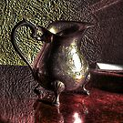 The silver milk jug by Richard Ray