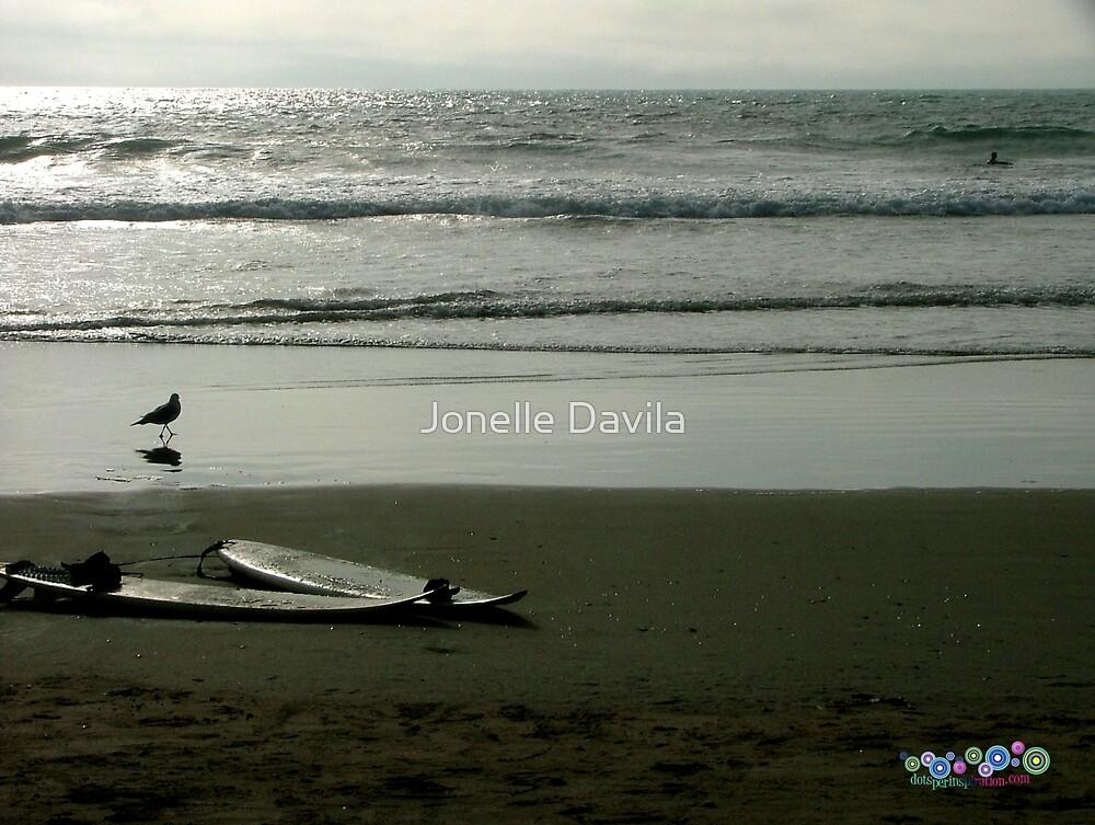 Two Surfboards by Jonelle Davila