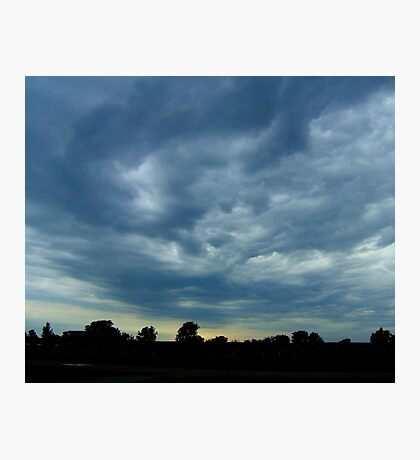 Sculpted Sky Photographic Print