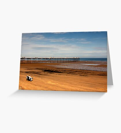 Picnic on the Beach Greeting Card
