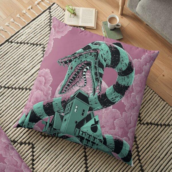 Beetlejuice Floor Pillow