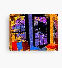A Colorful Place to Cry and SCREAM Canvas Print