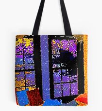A Colorful Place to Cry and SCREAM Tote Bag