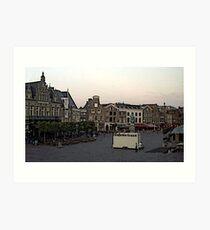 """Streetscape - Harskamp, Gelderland, Netherlands"" Art Print"