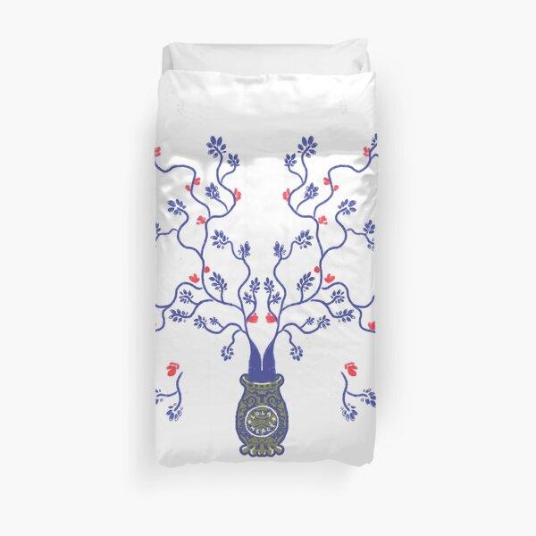 Asian shrub # 3 Duvet Cover