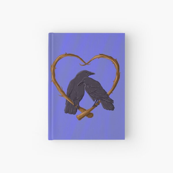 Kissing Crows Hardcover Journal