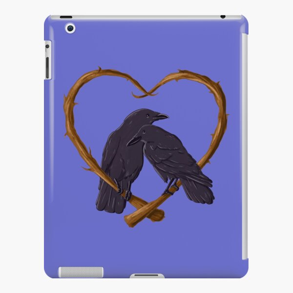 Kissing Crows iPad Snap Case