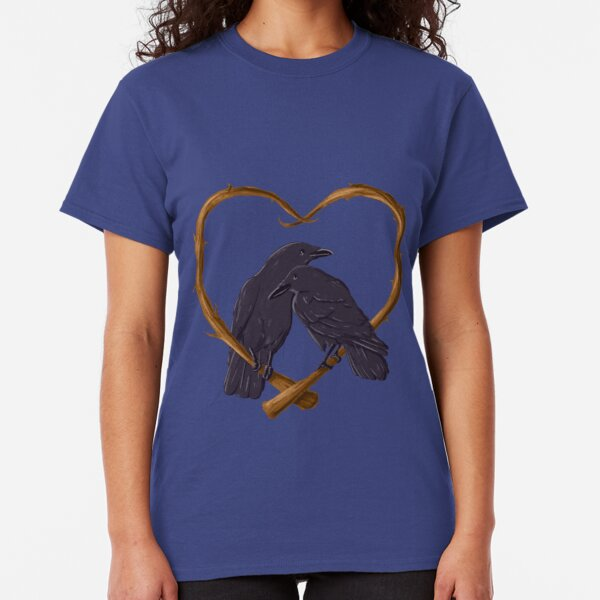 Kissing Crows Classic T-Shirt