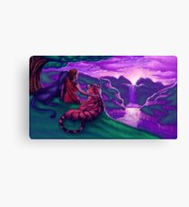 Promised Paradise Canvas Print