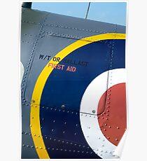Spitfire fuselage Poster