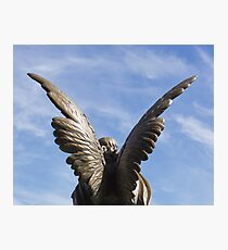 Rise up - Mountain View Cemetery Angel Photographic Print