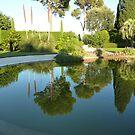 Reflections At The Villa by Fara